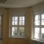 denkmalgeschütztes Haus mit Schallschutzfenstern