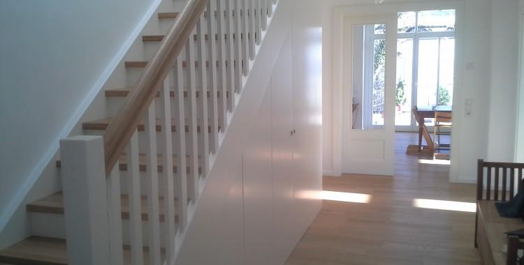 Treppe als Stauraum